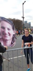 Pogo Heads at a marathon
